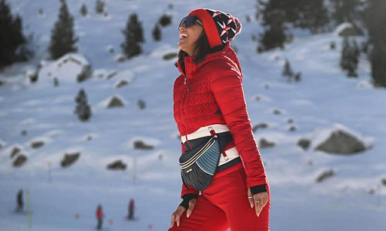 Diversión en trineo: Paula Echevarría, Miguel Torres y Daniella disfrutan de la nieve en sus vacaciones de Navidad