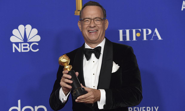 Tom Hanks se emociona y emociona a todos al agradecer su premio a toda una carrera