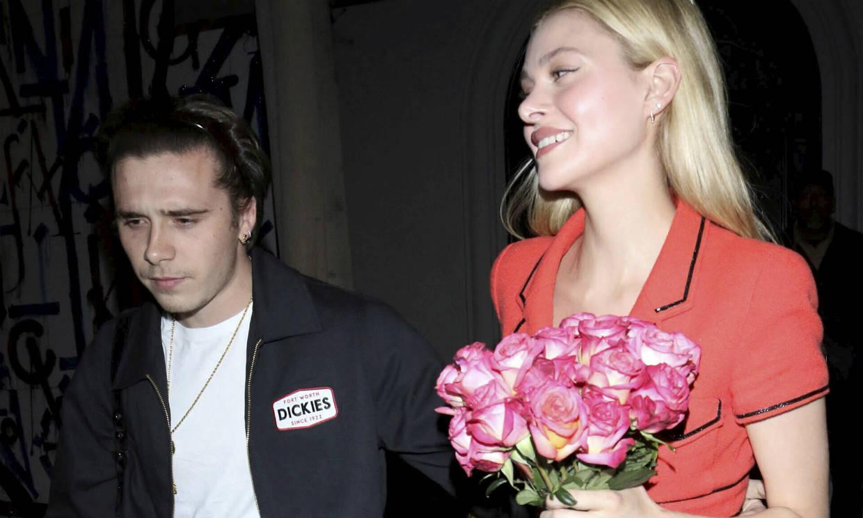 Brooklyn Beckham, flores y mucho amor para abrazar la nueva década