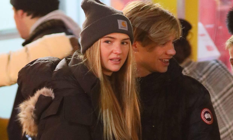 El divertido plan de Romeo Beckham con su chica y su hermano Brooklyn en un parque de atracciones