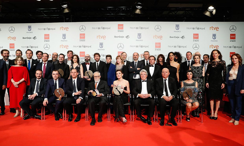 Consulta la lista completa de los ganadores de los Premios Forqué 2020