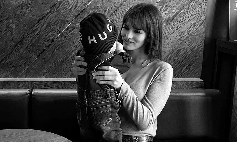 Sara Sálamo celebra medio año de 'luz' con el pequeño Theo