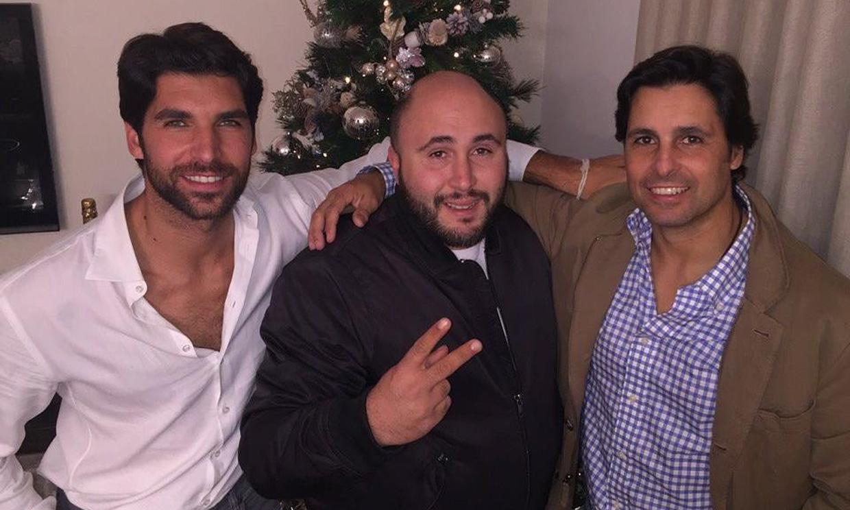 Los hermanos Rivera, unidos de nuevo por el cumpleaños de Cayetano