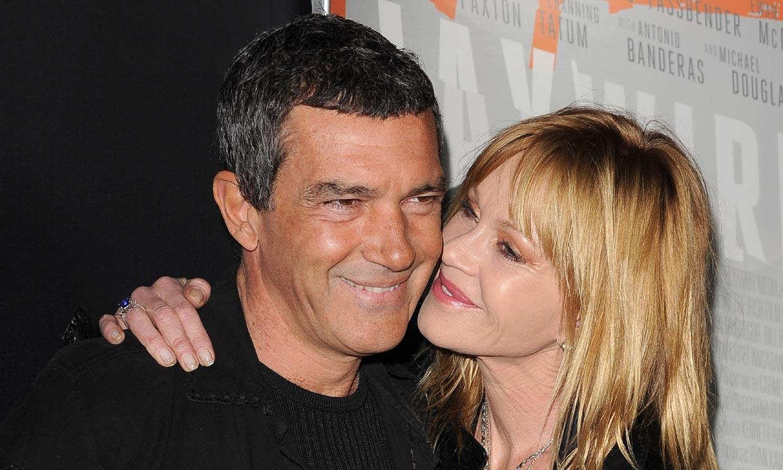 La cariñosa felicitación de Melanie Griffith a Antonio Banderas por su nominación al Oscar