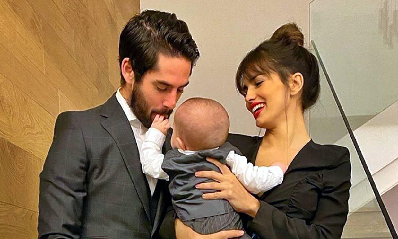 Isco Alarcón canta a su hijo para aprender el abecedario ¡y Sara Sálamo se derrite!