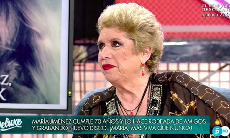 María Jiménez reaparece con muy buen aspecto tras su duro bache de salud