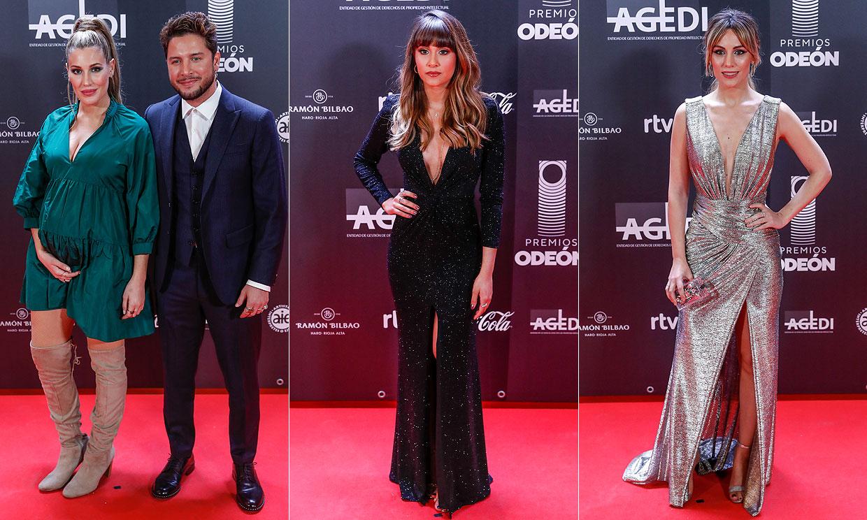 Aitana, Manuel Carrasco, Edurne... las estrellas llenan la alfombra roja de los Premios Odeón