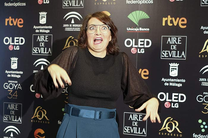Los ánimos de los fans a la presentadora de los Goya 2020