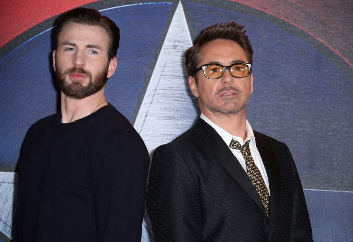Chris Evans Robert Downey Junior