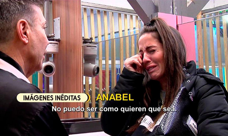 Anabel Pantoja se derrumba tras la visita de Kiko Hernández a la casa de Gran Hermano