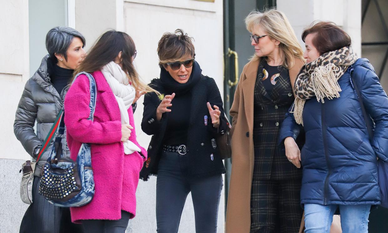 Sonsoles Ónega, de comida con sus amigas periodistas tras conocerse que se ha separado