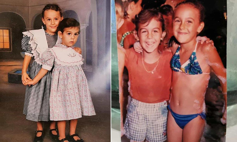 La hermana de Georgina Rodríguez abre su álbum de la infancia y ¡nos encanta!