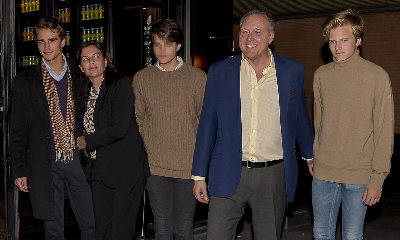 Jaime Barroso, descubrimos al hijo mediano de Pepe Barroso y Mónica Silva