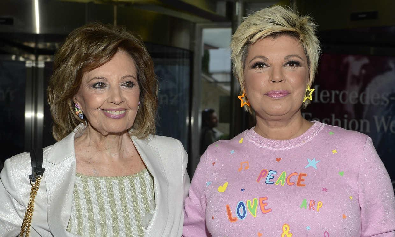 El mensaje de amor de Terelu Campos a su madre Maria Teresa en 'Sábado Deluxe'
