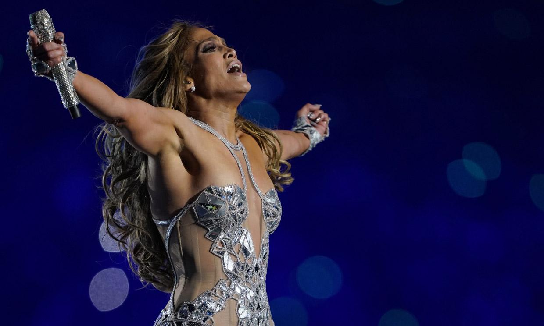 130 bailarines, 143 pares de zapatos... Las cifras de Jennifer Lopez en la Super Bowl