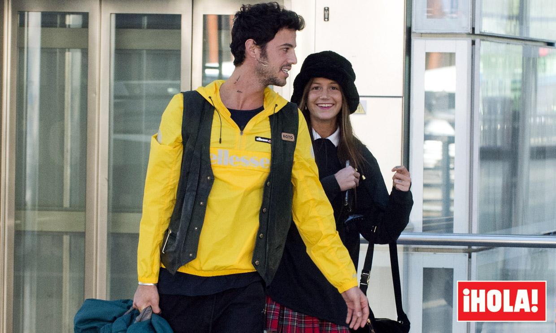 EXCLUSIVA: El cariñoso reencuentro entre Miri y Jorge Brazález
