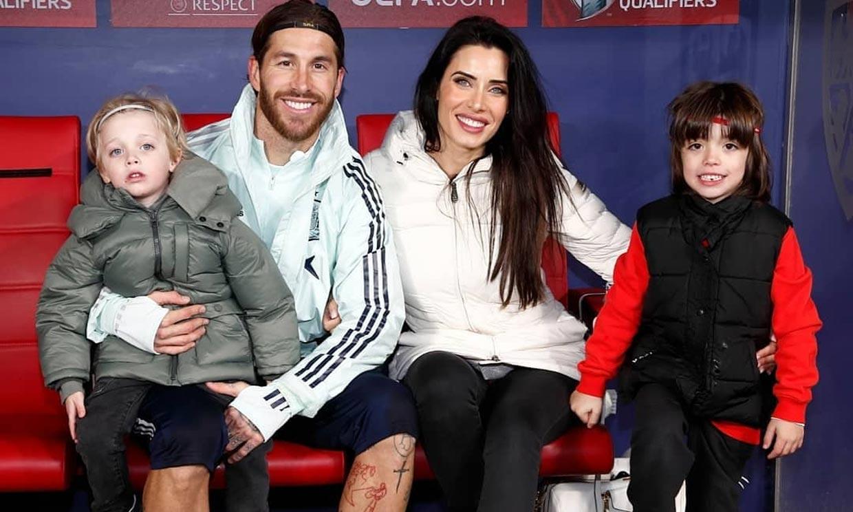 Sergio Ramos publica un bonito vídeo familiar y... ¿da una pista sobre el bebé que esperan?