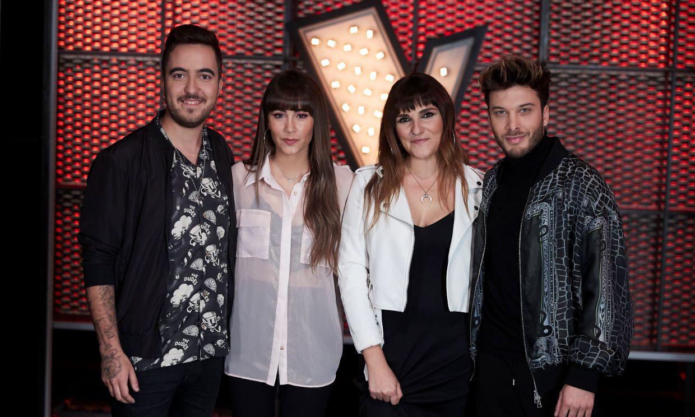 Aitana, Beret, Blas Cantó y Rozalén se presentan como nuevos asesores de 'La Voz Kids'