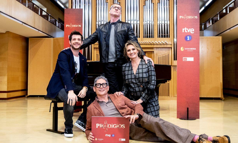 Ainhoa Arteta, Nacho Duato, Andrés Salado y Boris Izaguirre presentan el regreso de 'Prodigios'