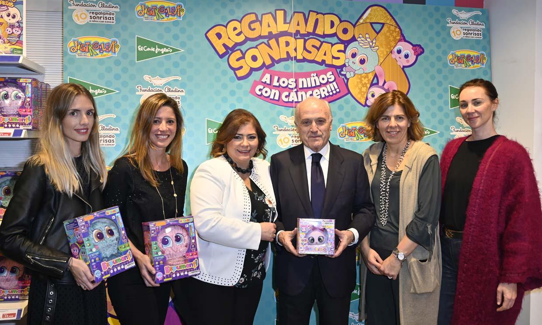 María Castro, Patricia Olmedilla, Mar Montoro... y otros rostros solidarios con el cáncer infantil