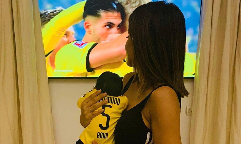 El San Valentín 'más especial' de Hiba Abouk: diferente, futbolero y lleno de amor