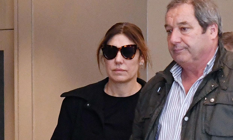 Raquel Revuelta devastada en el emotivo adiós al padre de sus tres hijos, Miguel Ángel Jiménez