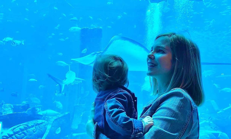 La emoción de Natalia Sánchez y Marc Clotet al 'descubrir el mundo' a través de su hija Lia