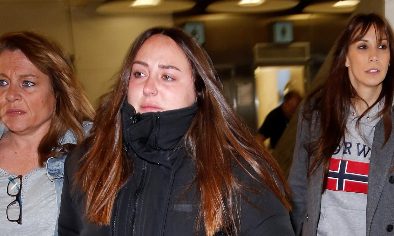 'Supervivientes': Rocío Flores desbordada por el amor de su novio antes de partir rumbo a Honduras