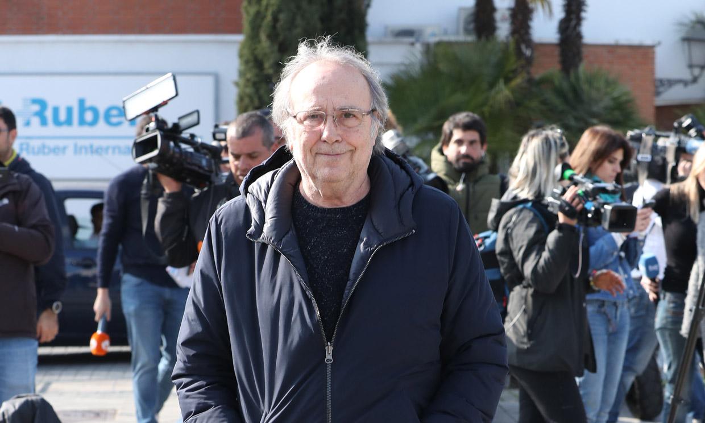 Las palabras de Joan Manuel Serrat tras visitar a Joaquín Sabina en el hospital: 'Está en un camino de recuperación'