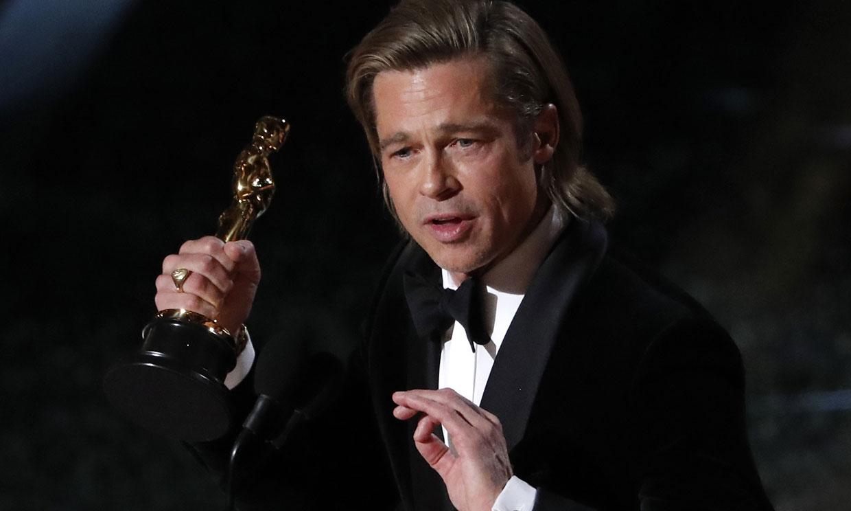 Así han reaccionado los hijos de Brad Pitt tras su emotivo discurso de los premios Oscar