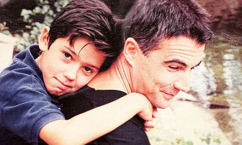 ¡Irreconocible! David Cantero tira de nostalgia para felicitar a su hijo Álvaro por su cumpleaños