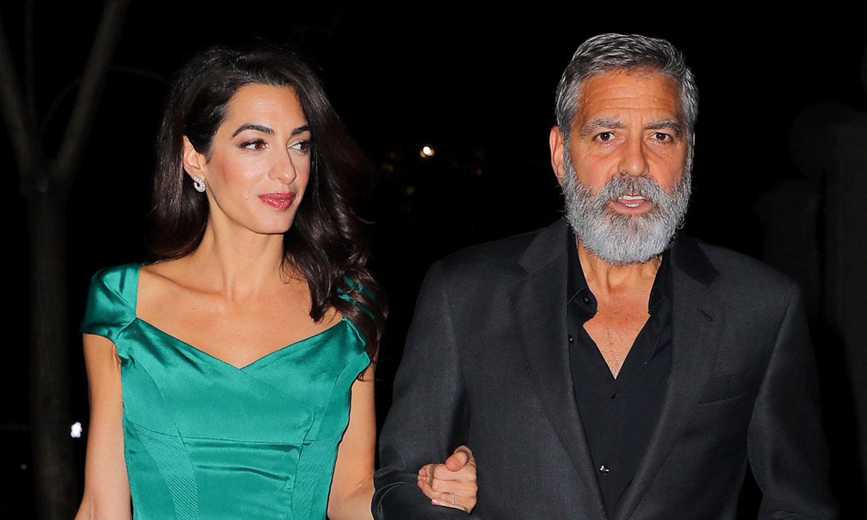 El disgusto que George y Amal Clooney se han llevado durante su estancia en España