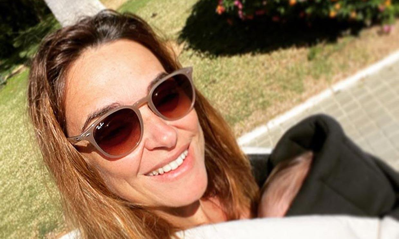 Toñi Moreno hace balance tras la llegada hace un mes de su hija Lola