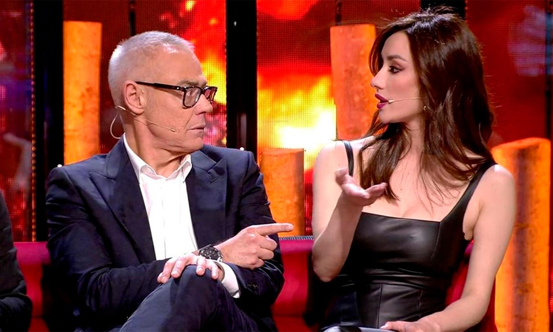 Hugo Sierra, ex de Adara, e Ivana Icardi, ex de Gianmarco, protagonizan el primer flirteo de Supervivientes