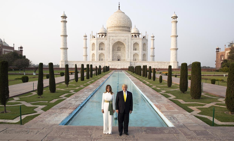 Los Trump, los duques de Cambridge, Jeff Bezos, todos se enamoran de la India... y del Taj Mahal
