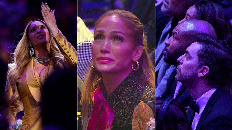 Pau Gasol y otras estrellas que también se emocionaron en la despedida a Kobe Bryant