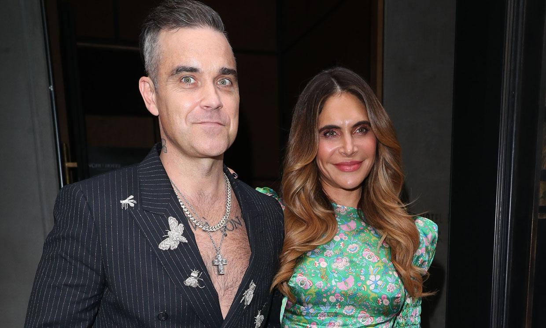 ¡Sorpresa! Robbie Williams y Ayda Field presentan a su cuarto bebé