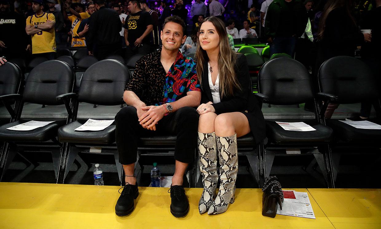 Javier Hernández, 'Chicharito', cumple un nuevo sueño en compañía de su mujer