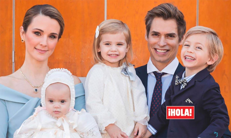 Carlos Baute y Astrid Klisans bautizan a su hija, Álisse