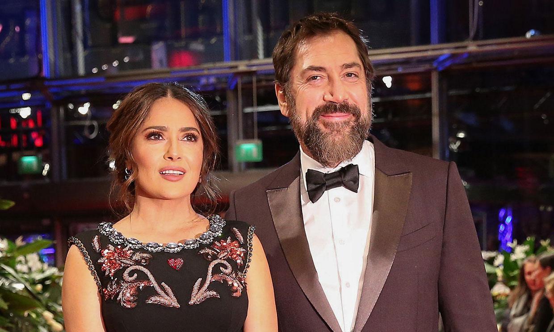 Los piropos de Salma Hayek a Javier Bardem: 'Es mi actor favorito y ¡está casado con mi mejor amiga!'