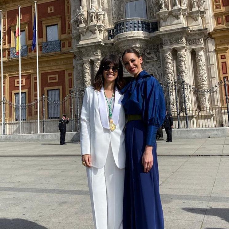 El motivo por el que Eva González se ha emocionado en la entrega de medallas del Día de Andalucía
