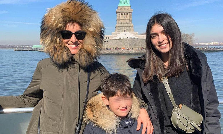 El inolvidable viaje de Blanca Romero con sus hijos, Lucía y Martín, a Nueva York