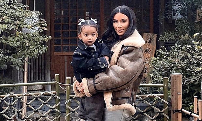 ¿Es Kim Kardashian de adolescente o Chicago de mayor? La foto que ha dejado boquiabiertos a sus fans