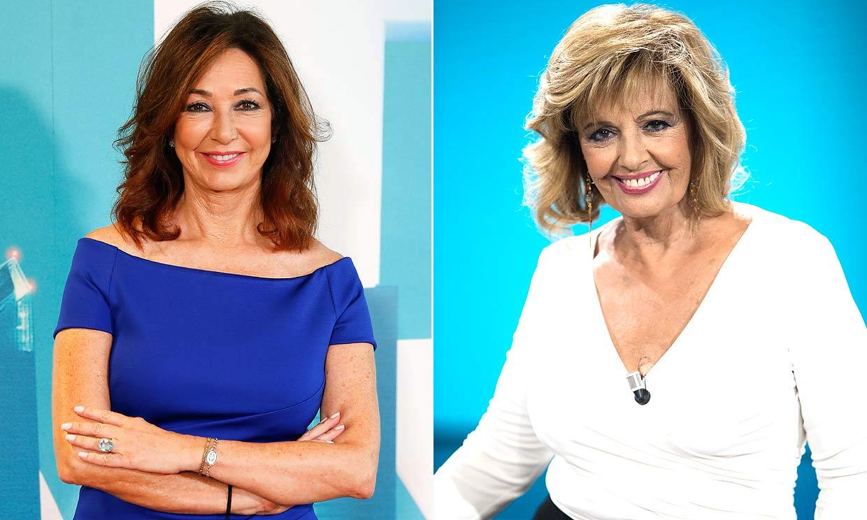 El motivo del reencuentro de Ana Rosa Quintana y María Teresa Campos en un plató de televisión
