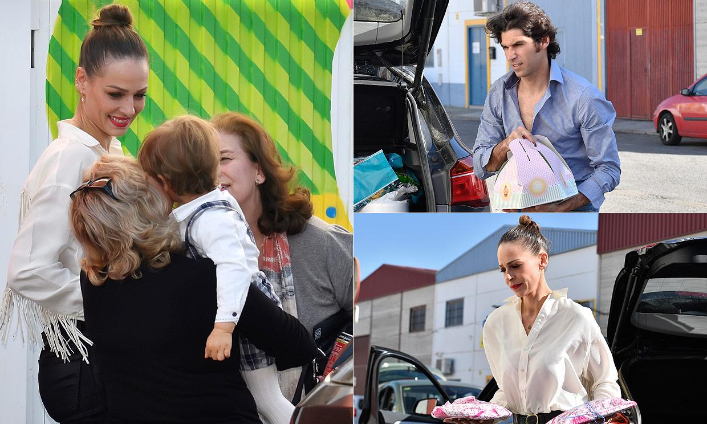 Tarta, globos, regalos... Eva González y Cayetano Rivera celebran por todo lo alto el cumple de su hijo