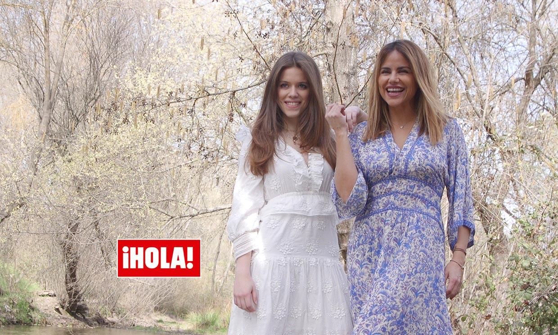 En ¡HOLA! Mónica Hoyos presenta a Luna, su hija quinceañera
