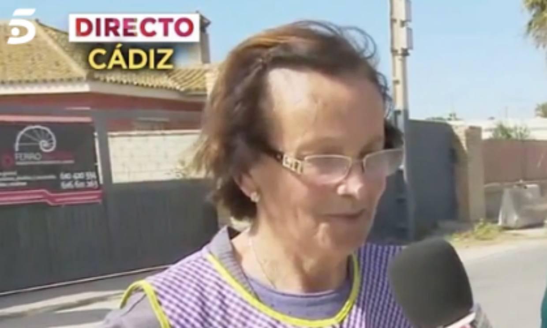 La madre de Ana María Aldón rompe a llorar tras la emisión de su entrevista más desgarradora