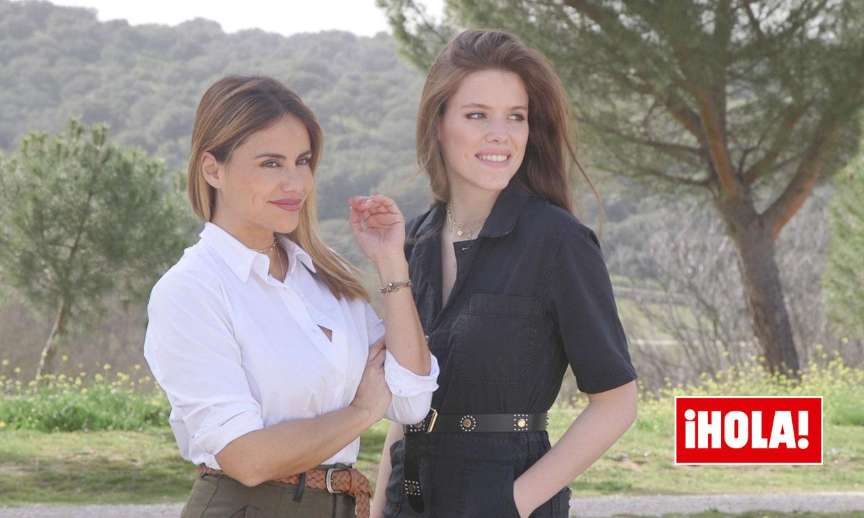 'Tiene muy claro que quiere ser política', las palabras de Mónica Hoyos sobre su hija Luna en ¡HOLA!