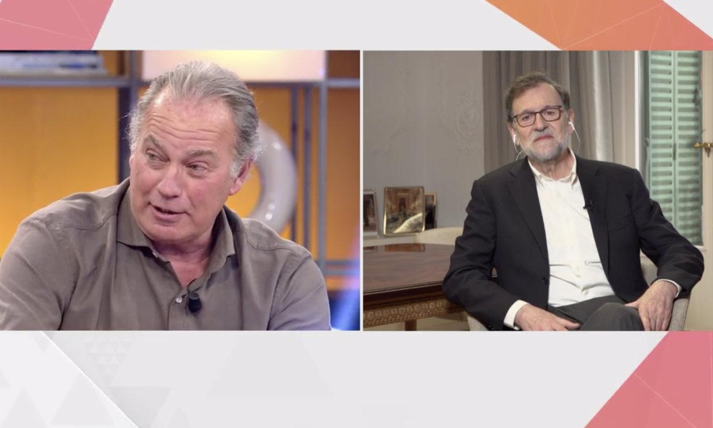 Unos calcetines prestados y empanada gallega, las divertidas anécdotas entre Bertín Osborne y Mariano Rajoy