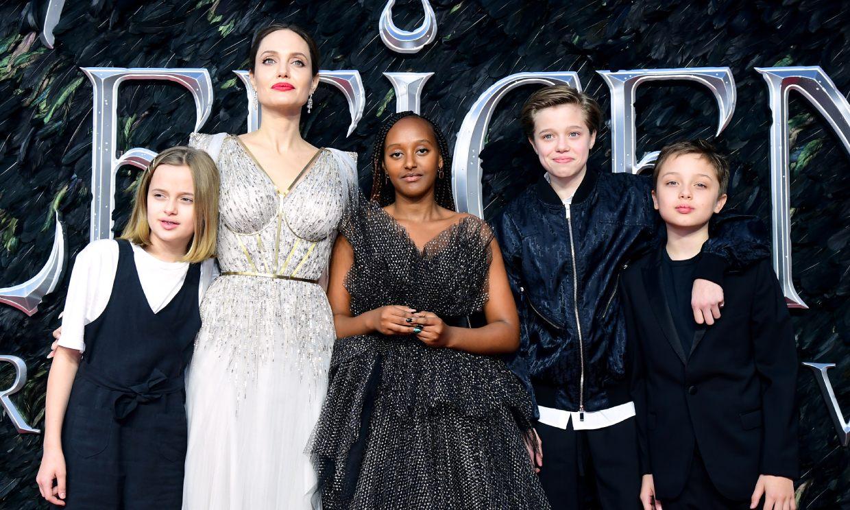Angelina Jolie cuenta que han operado a dos de sus hijas, por eso Brad Pitt no fue a los Bafta